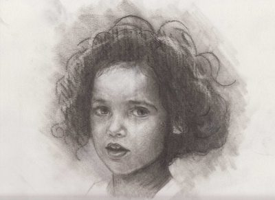 Francesca 2, painting by Alessandro Bruno.